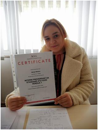 """Интервју са Маријом Николов, струковним инжењером технологије и технологом за воћарство у компанији """"Будимка"""""""