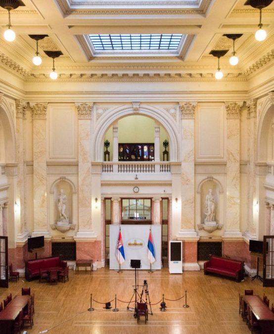У посети Народној скупштини Републике Србије